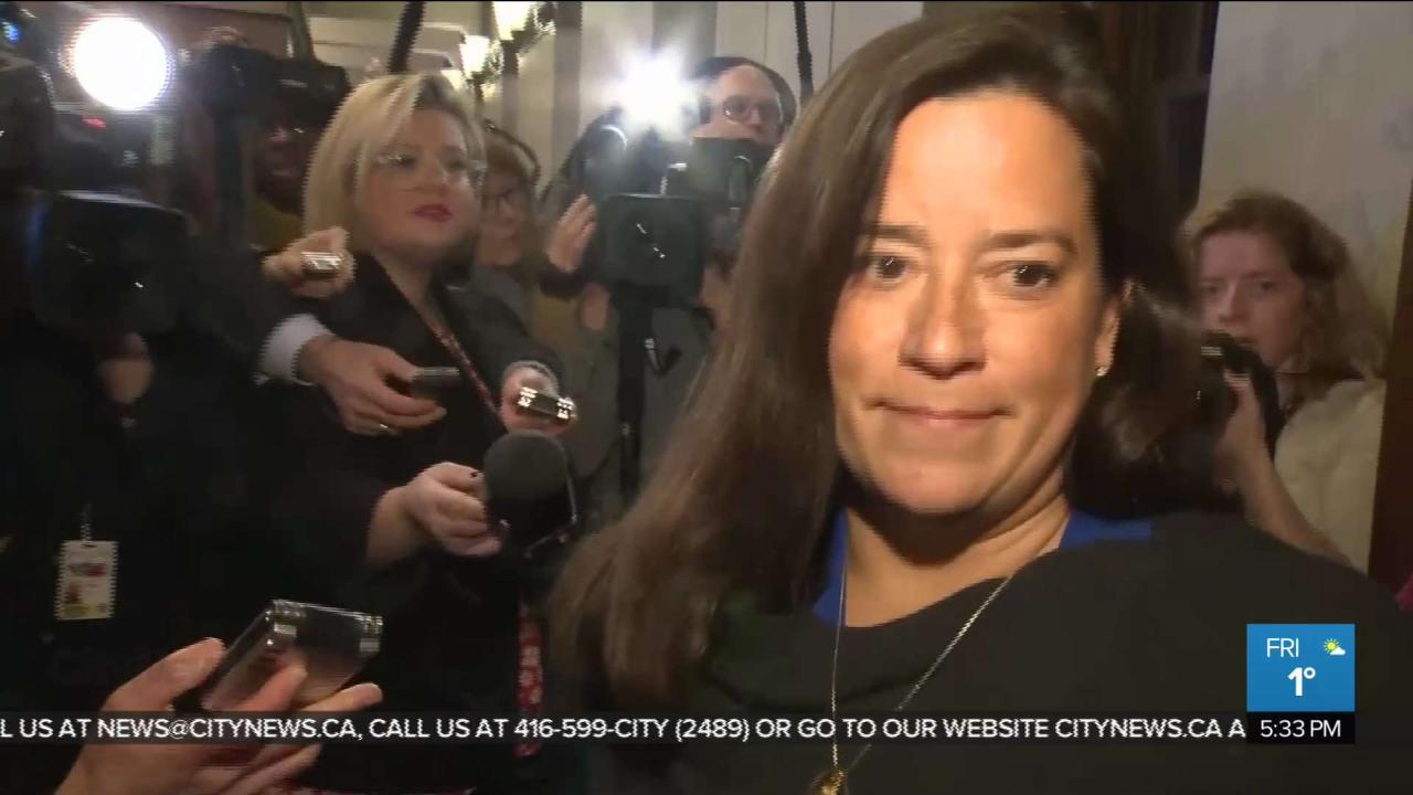 Wilson-Raybould to reveal more details on SNC-Lavalin