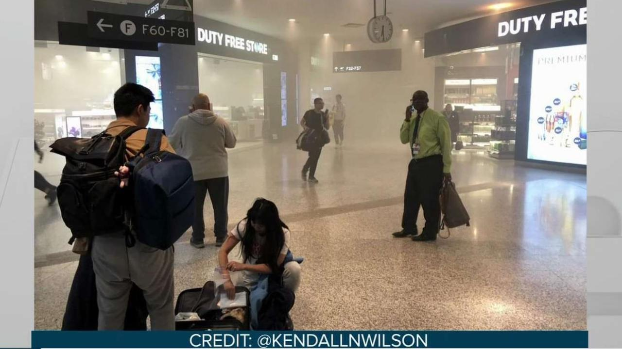 Fire sparks delays at Pearson Airport