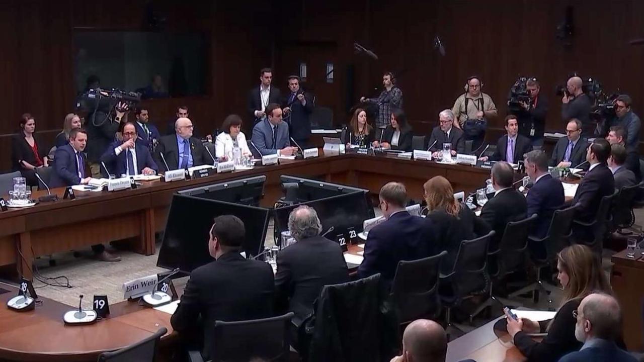 Libs hastily adjourn emergency meeting on SNC-Lavalin affair