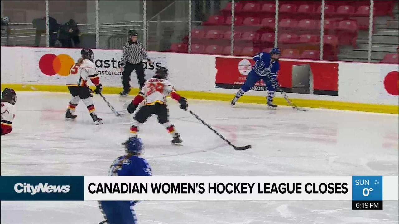 Players React As Canadian Women S Hockey League Folds