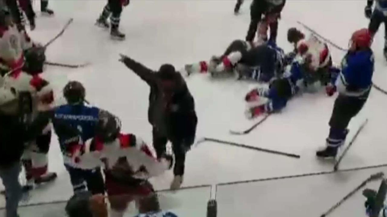 Police Investigating Youth Hockey Tournament Brawl