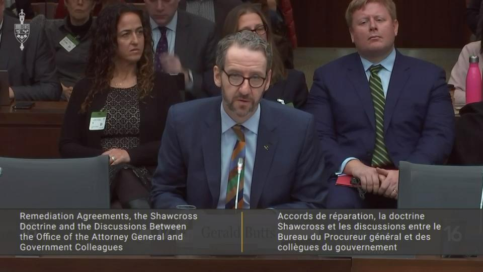 SNC-Lavalin criminal case had nothing to do with cabinet shuffle: Gerald Butts