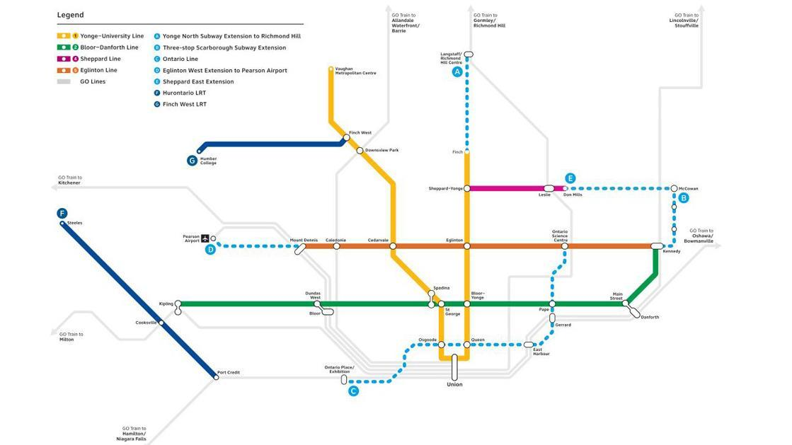 Ford government announces massive transit investment plan