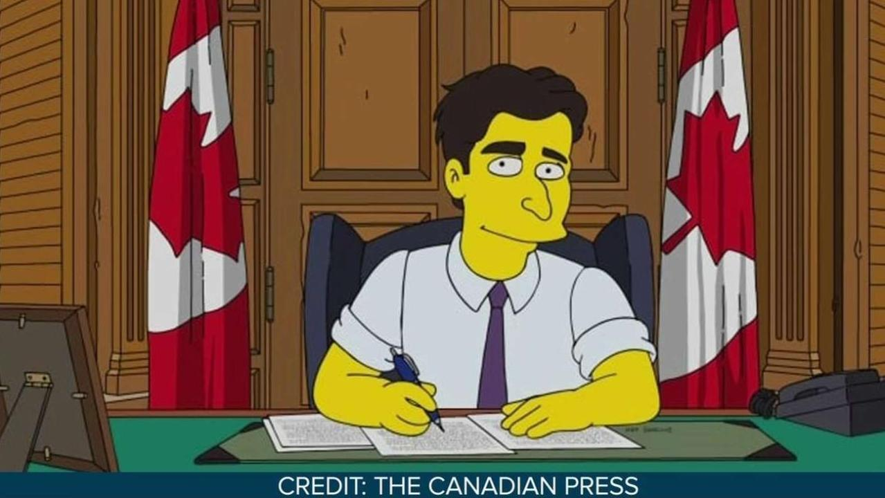Prime Minister Trudeau to appear on The Simpsons, sort of