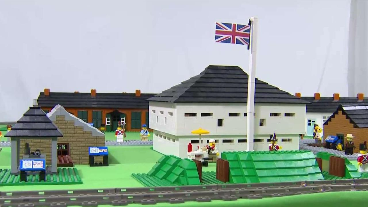 Hobbyist recreates Fort York with over 10,000 pieces of Lego