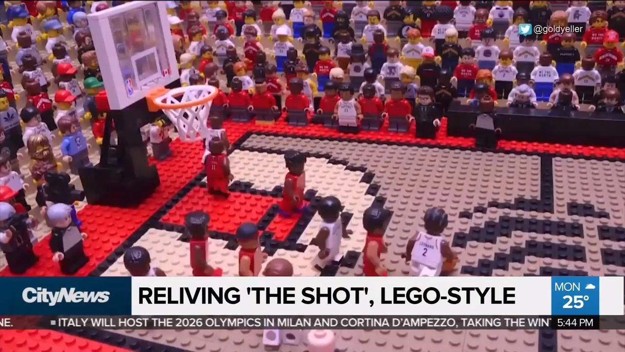 """Lego animator recreates """"the shot"""""""