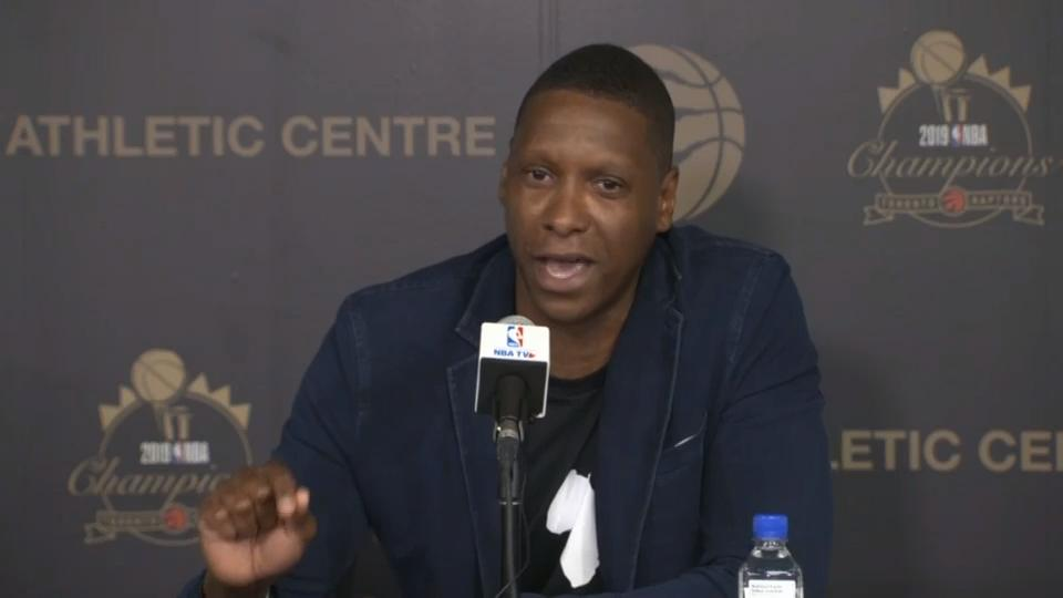 """""""What an opportunity, what a country"""": Ujiri shares passionate statement about Canada, the NBA and his story"""
