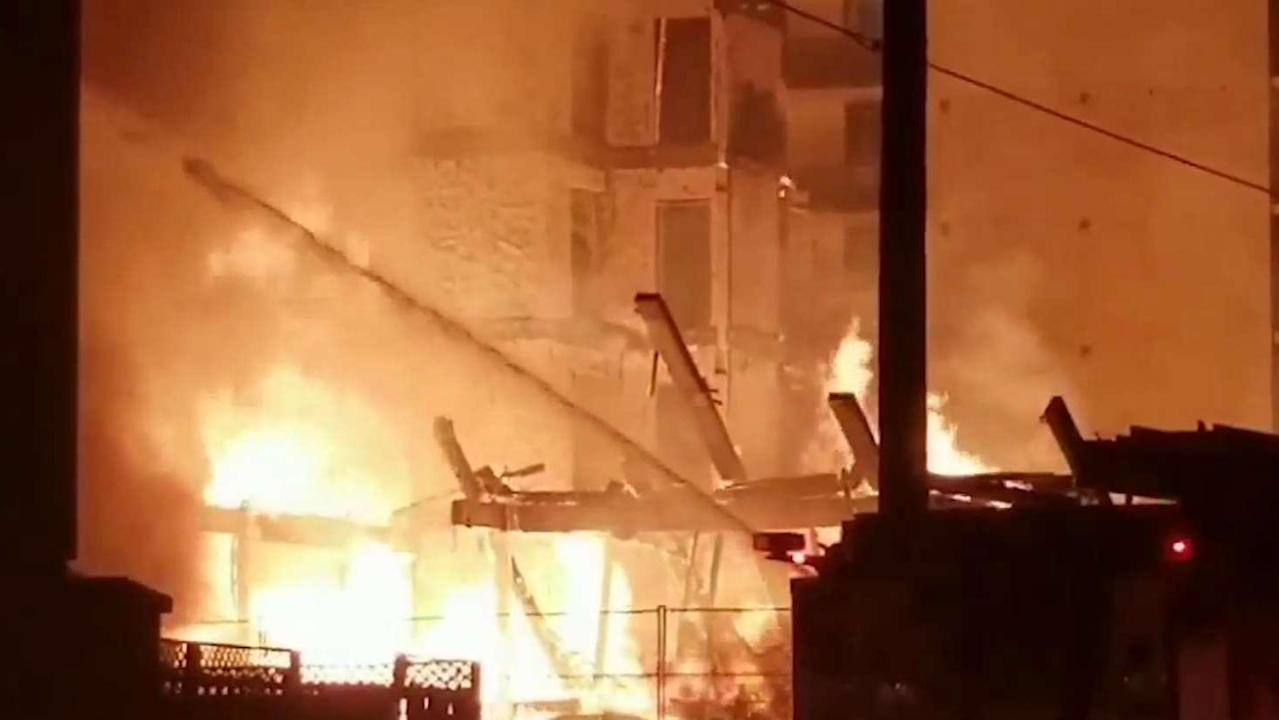 Raging inferno destroys low-rise apartment in Oshawa