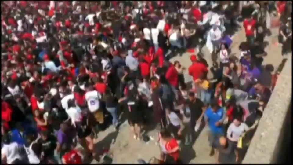 Witness describes chaos after reports of shots fired at Raptors fan rally