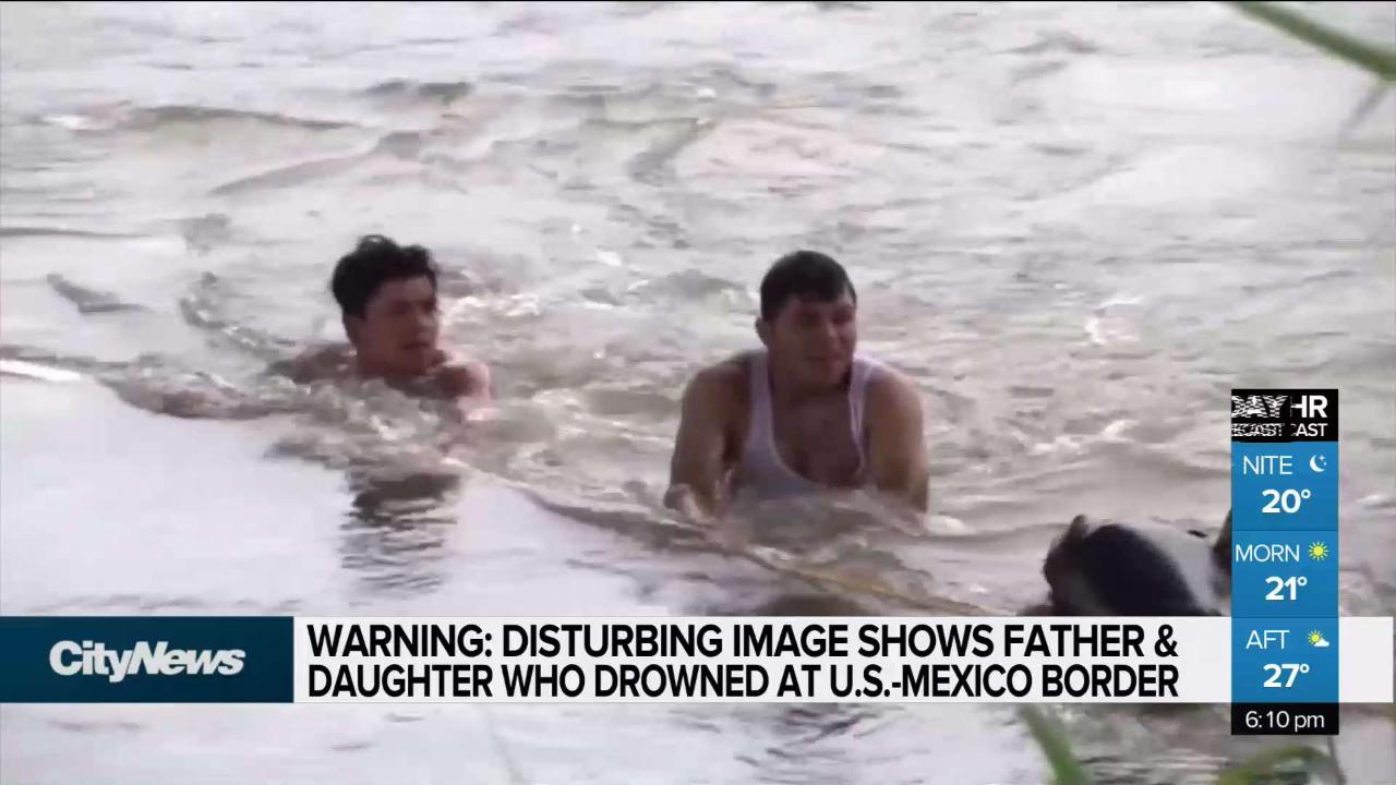 Photo of drowned migrant father, daughter, sparks outcry