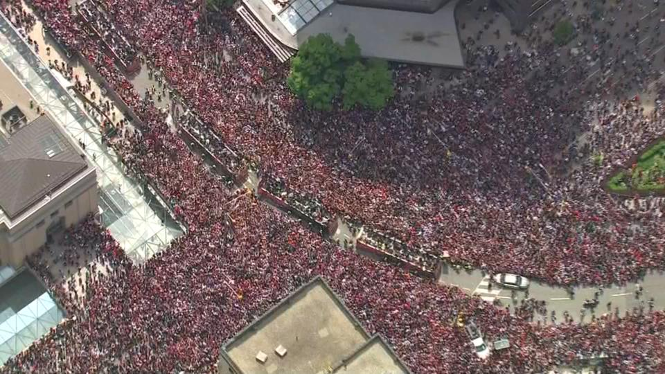 Concerns raised about planning of Raptors parade