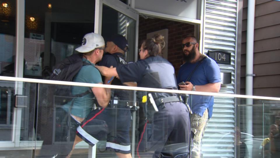 Police raid CAFE dispensary on Harbord Street, seizing bags
