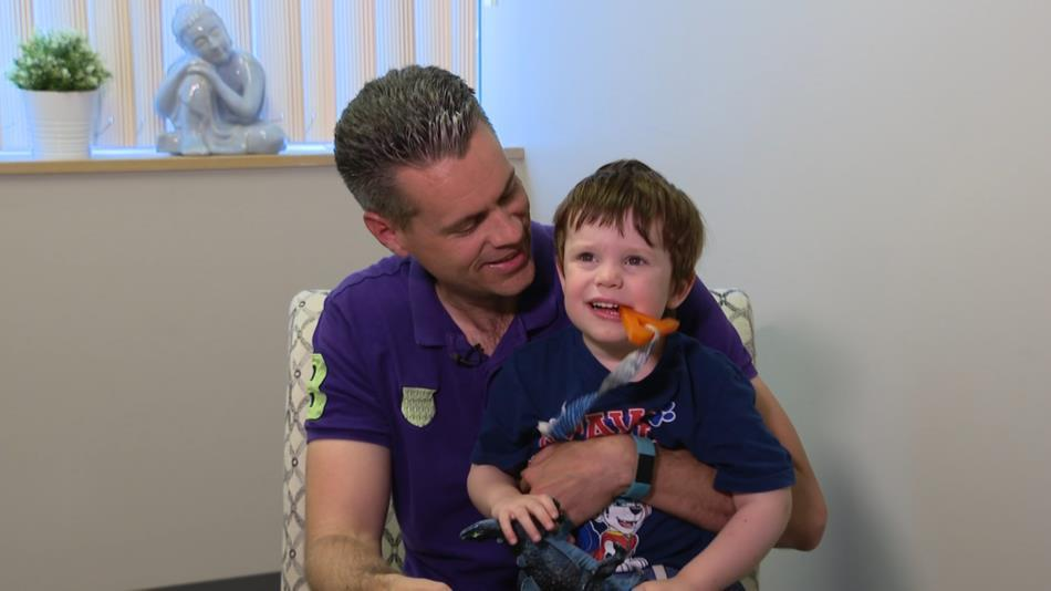 Dad chronicles daily realities of having child with autism