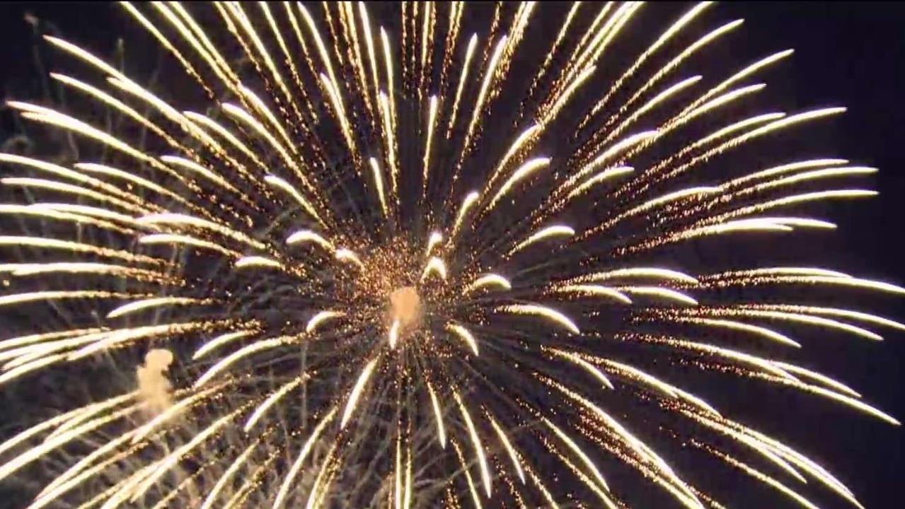 Canada Day Fireworks At Ashbridge S Bay