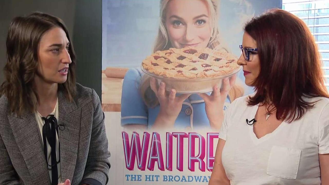 Singer Sara Bareilles on scoring musical 'Waitress'