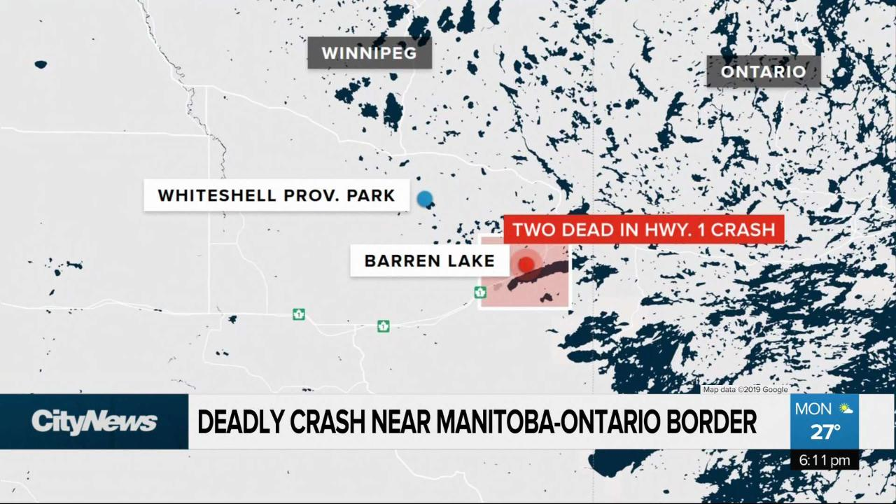 Fatal crash on Highway 1