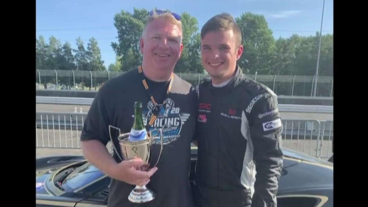 Teen with autism smashes stereotypes, sets records on race track