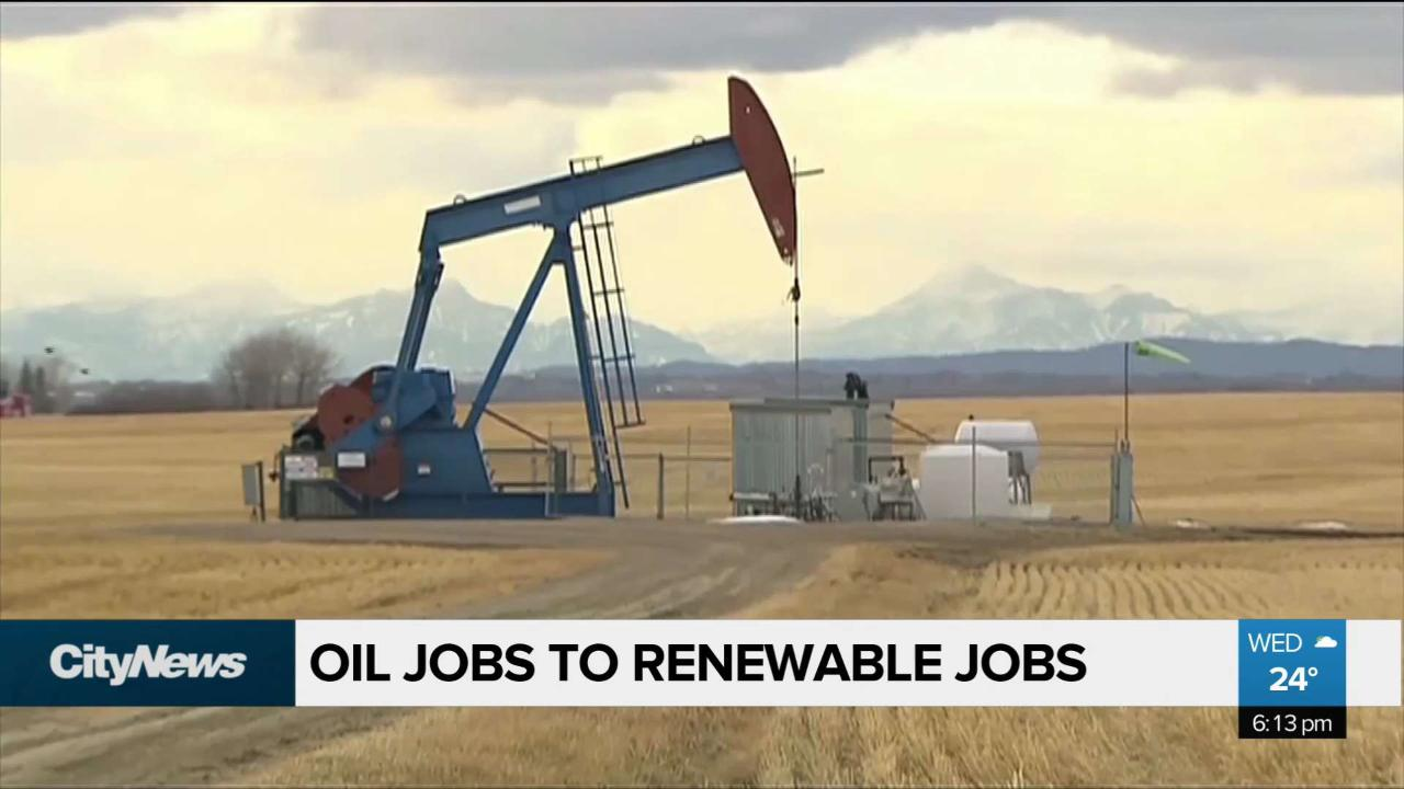 Green Party reveals plan to shift oil jobs to renewable energy jobs