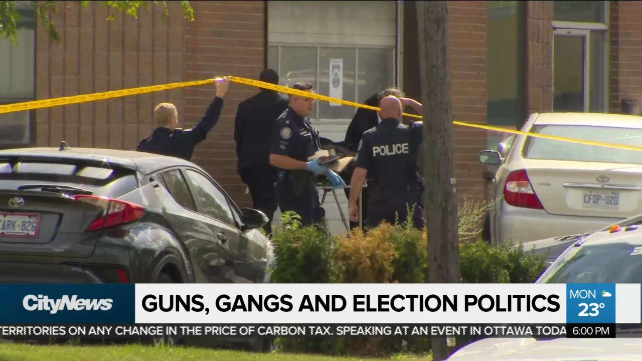 Feds pledge $54M to fight gun and gang violence in Ontario