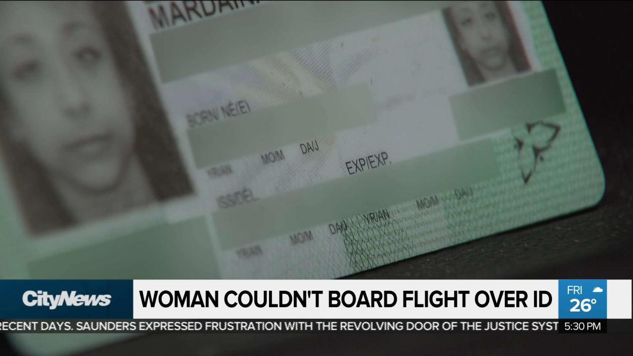 Woman denied flight because Health Card didn't reveal gender