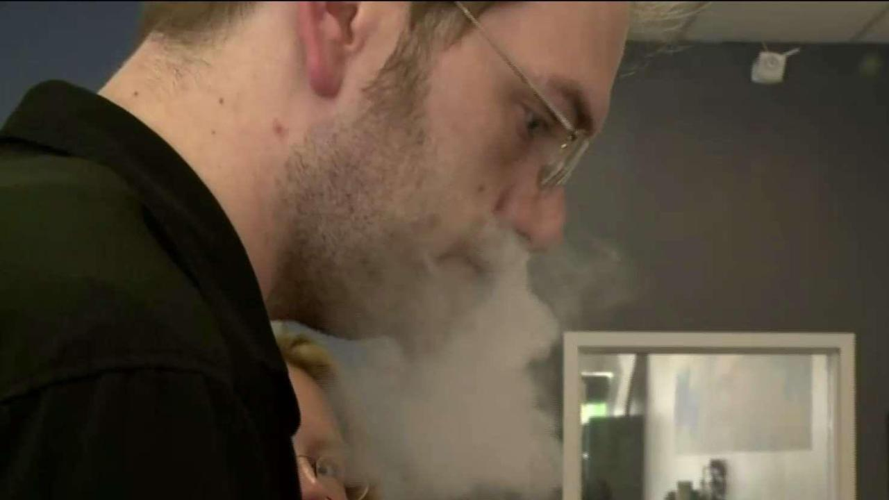 Lung illnesses that may be linked to vaping being probed