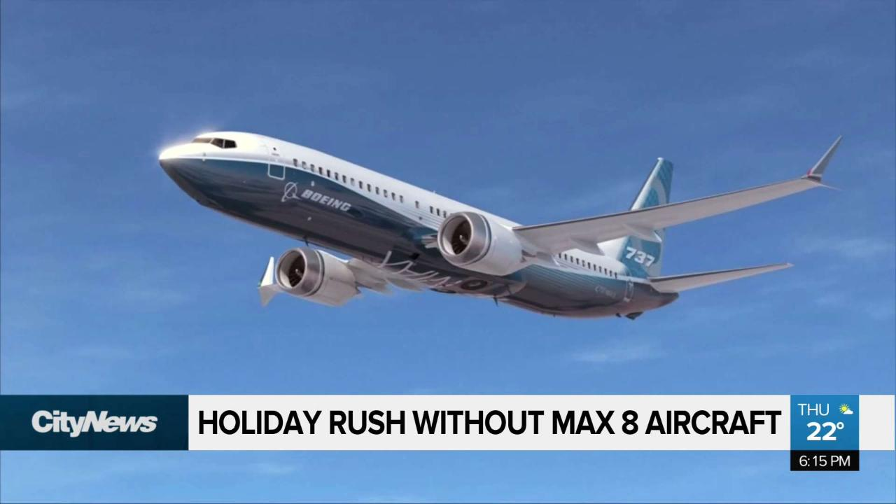 WestJet scrubs 737 Max from busy winter holiday schedule