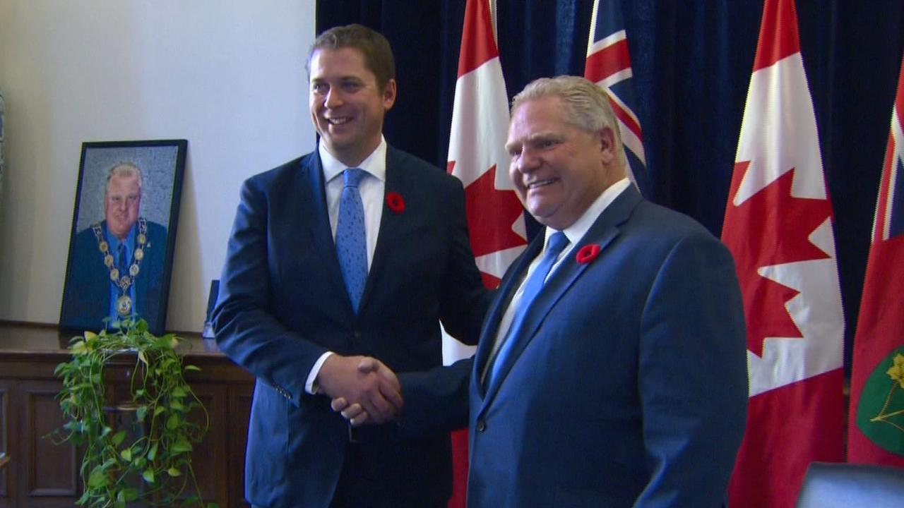 Ford cabinet members on premier's role in federal election