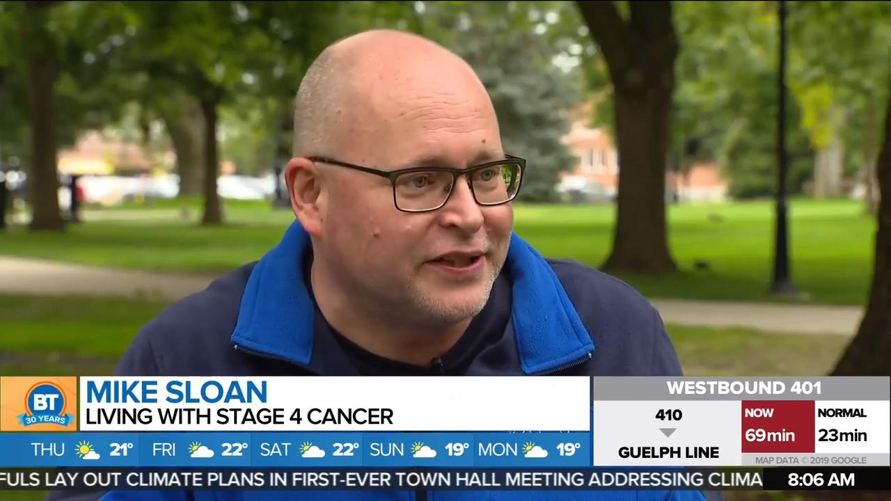 London, Ont  man living with terminal cancer turns to