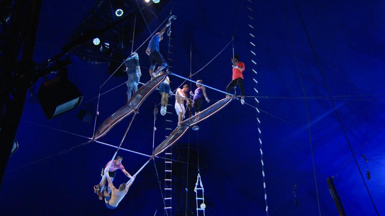 Under the Big Top of Cirque du Soleil's latest creation