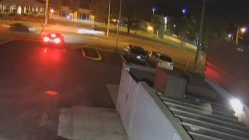 Police release security footage of vehicle believed to be