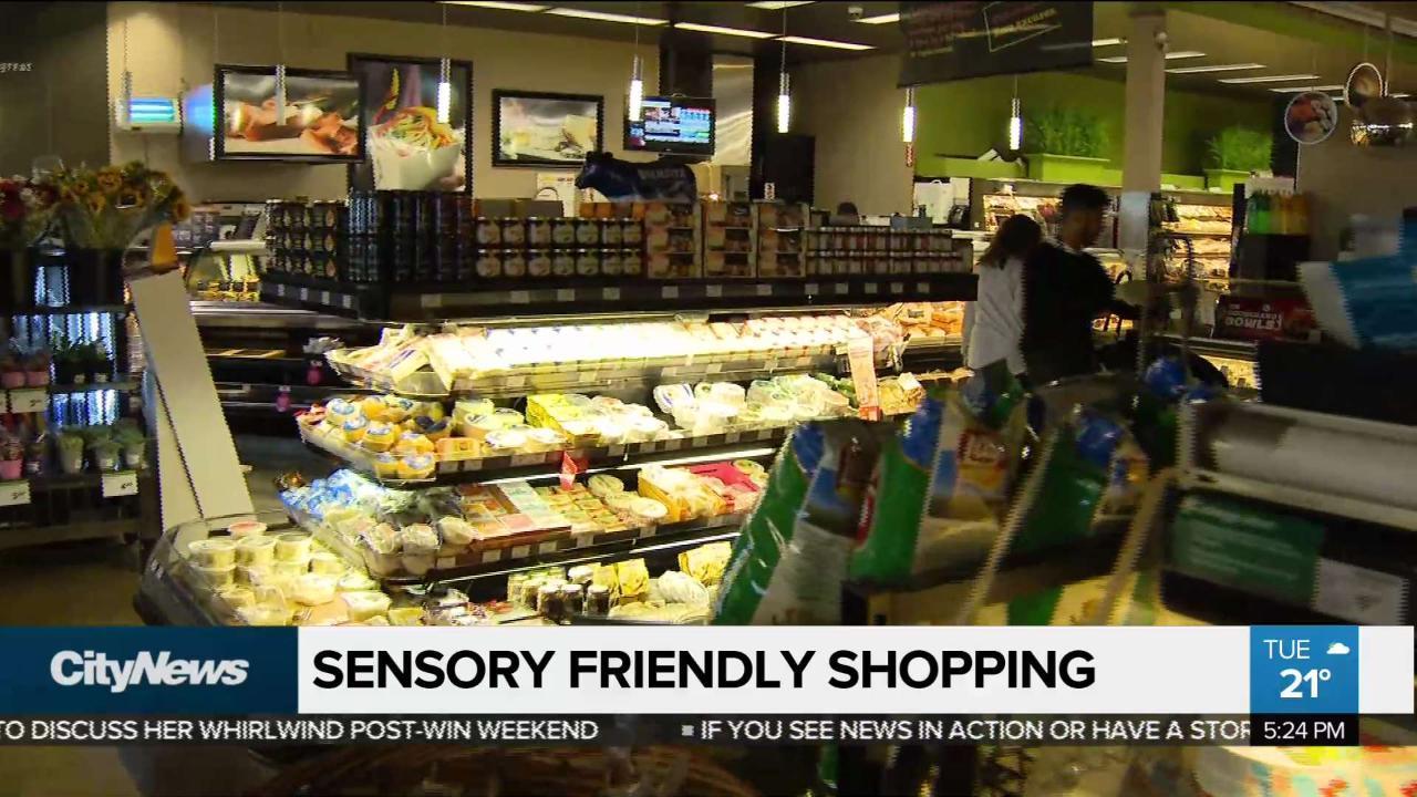 Sobeys introduces sensory-friendly shopping