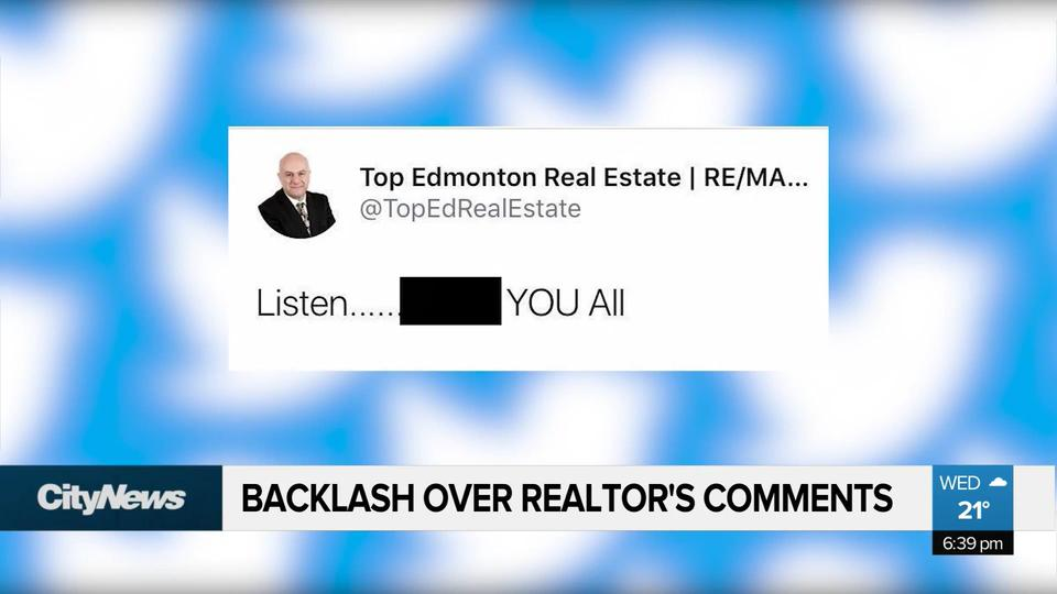 Realtor receiving backlash over controversial comments on