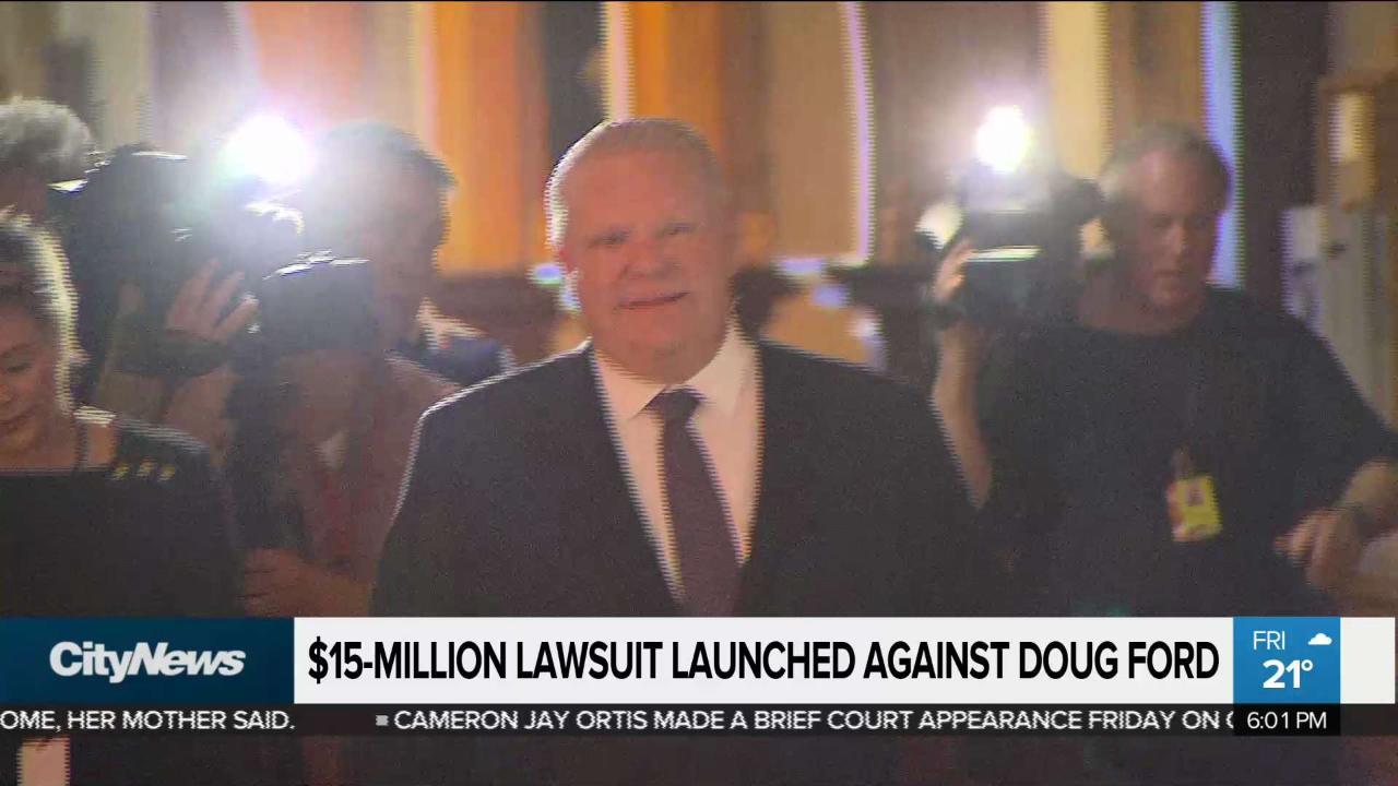 Former OPP deputy commissioner suing Ford