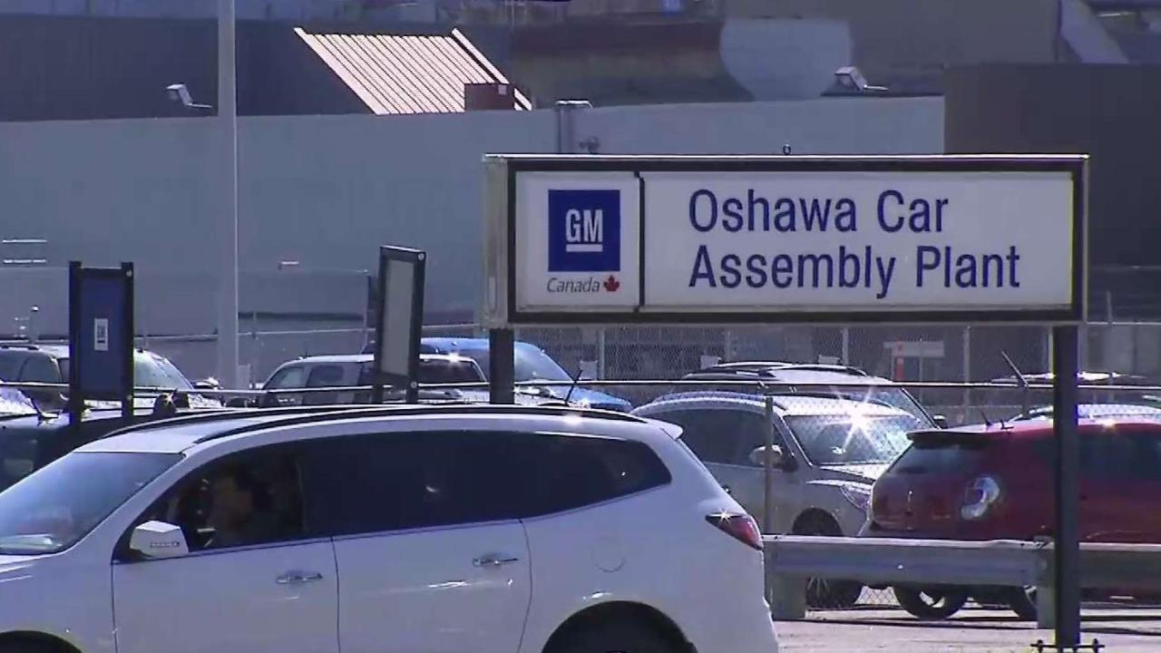 Temporary layoffs for some GM Oshawa workers as U.S. strike continues