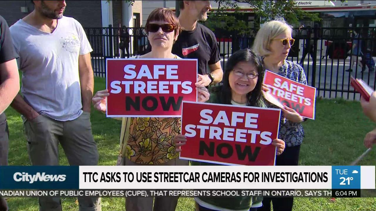 TTC asks to use streetcar cameras for investigations