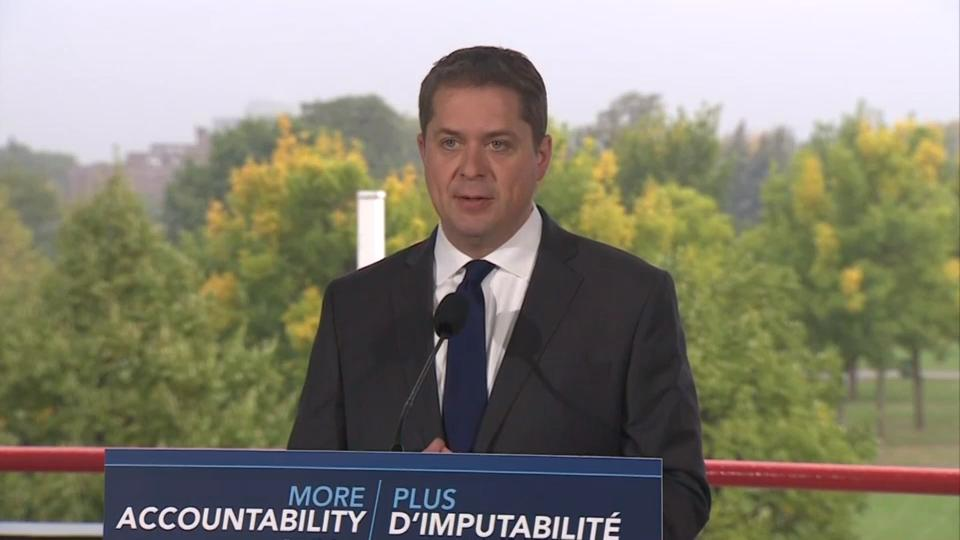 Scheer says if elected his government would launch inquiry into SNC-Lavalin affair