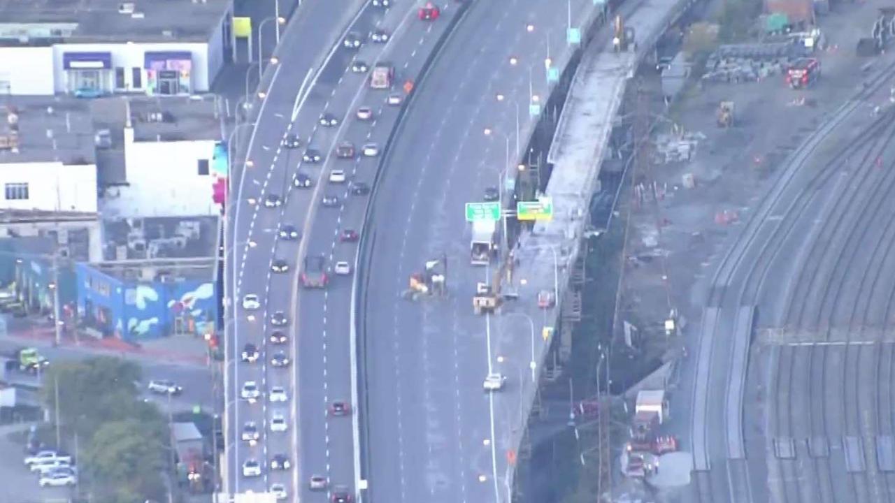 Lane closures in place on Gardiner Expressway