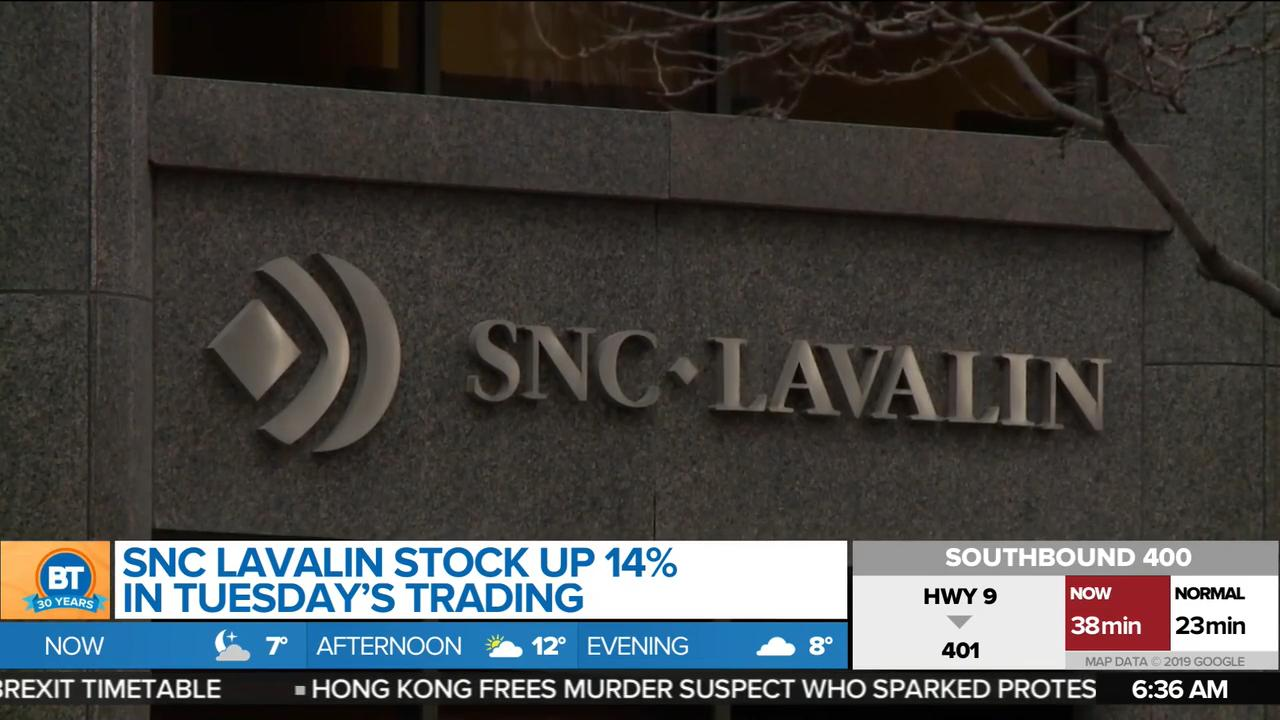 SNC-Lavalin stock surges day after federal election