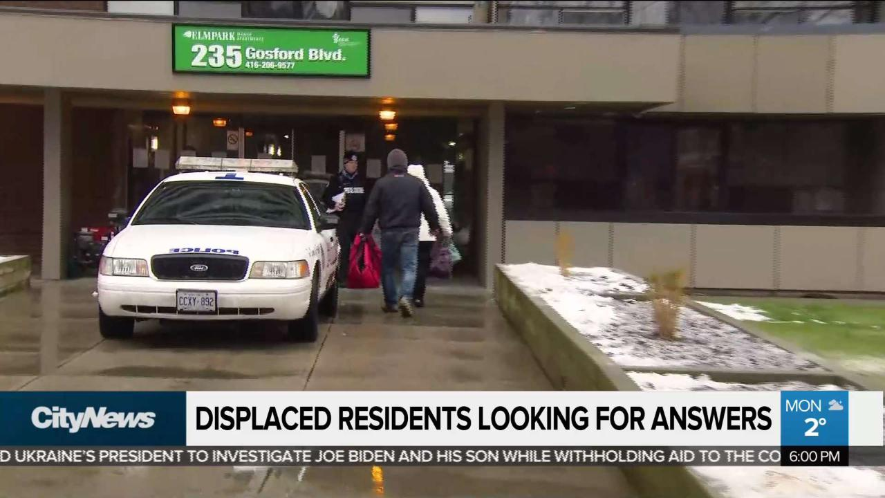 Residents displaced by North York fire seek answers - CityNews