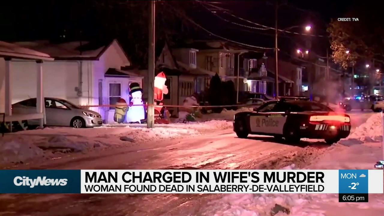 Valleyfield man charged in wife's murder - CityNews Montreal