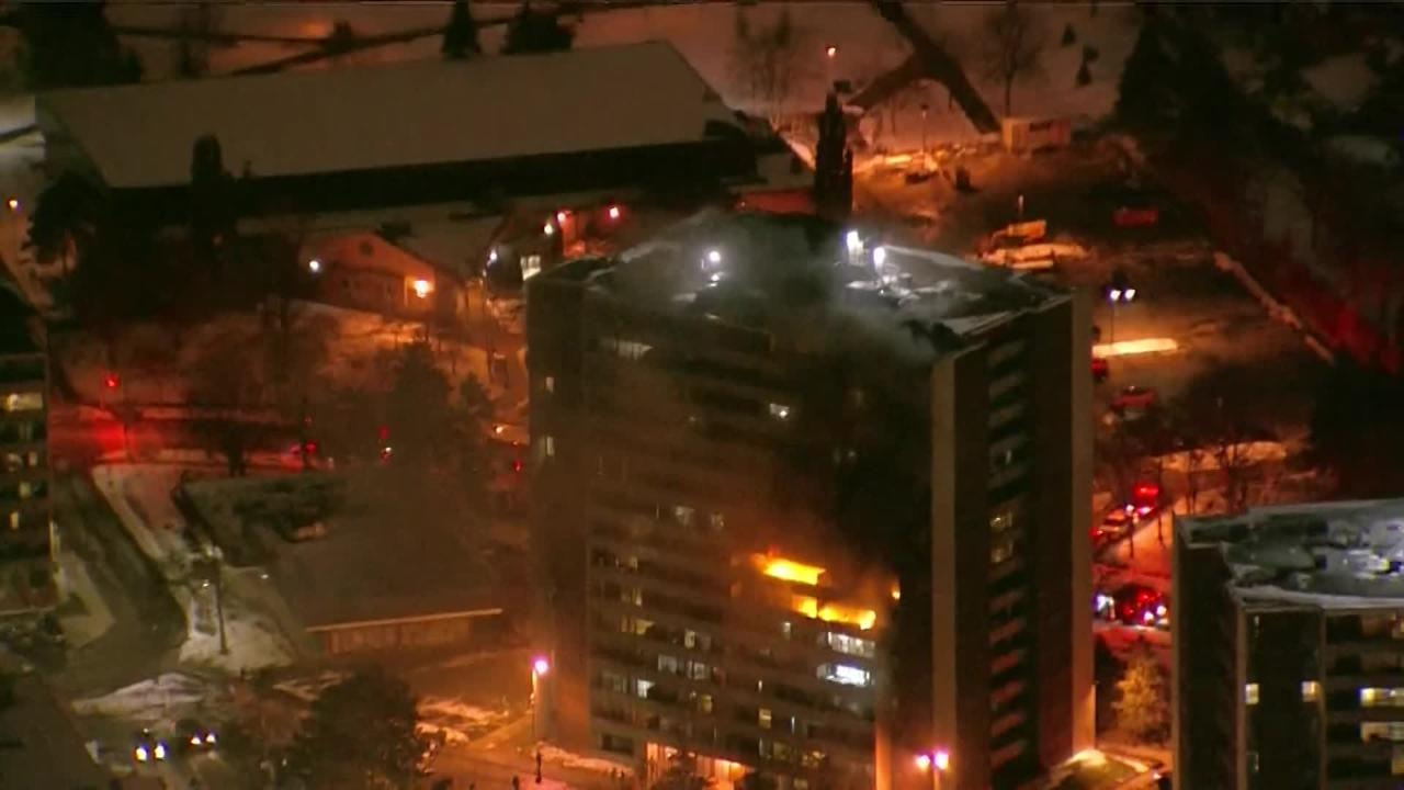 WATCHING NOW RAW: Five-alarm fire erupts at North York building - CityNews