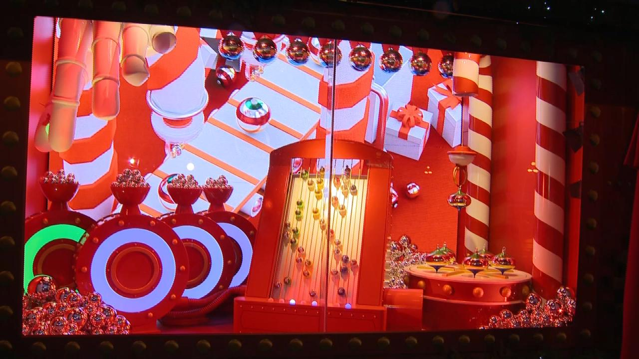 This year's Hudson's Bay Christmas window display unveiled