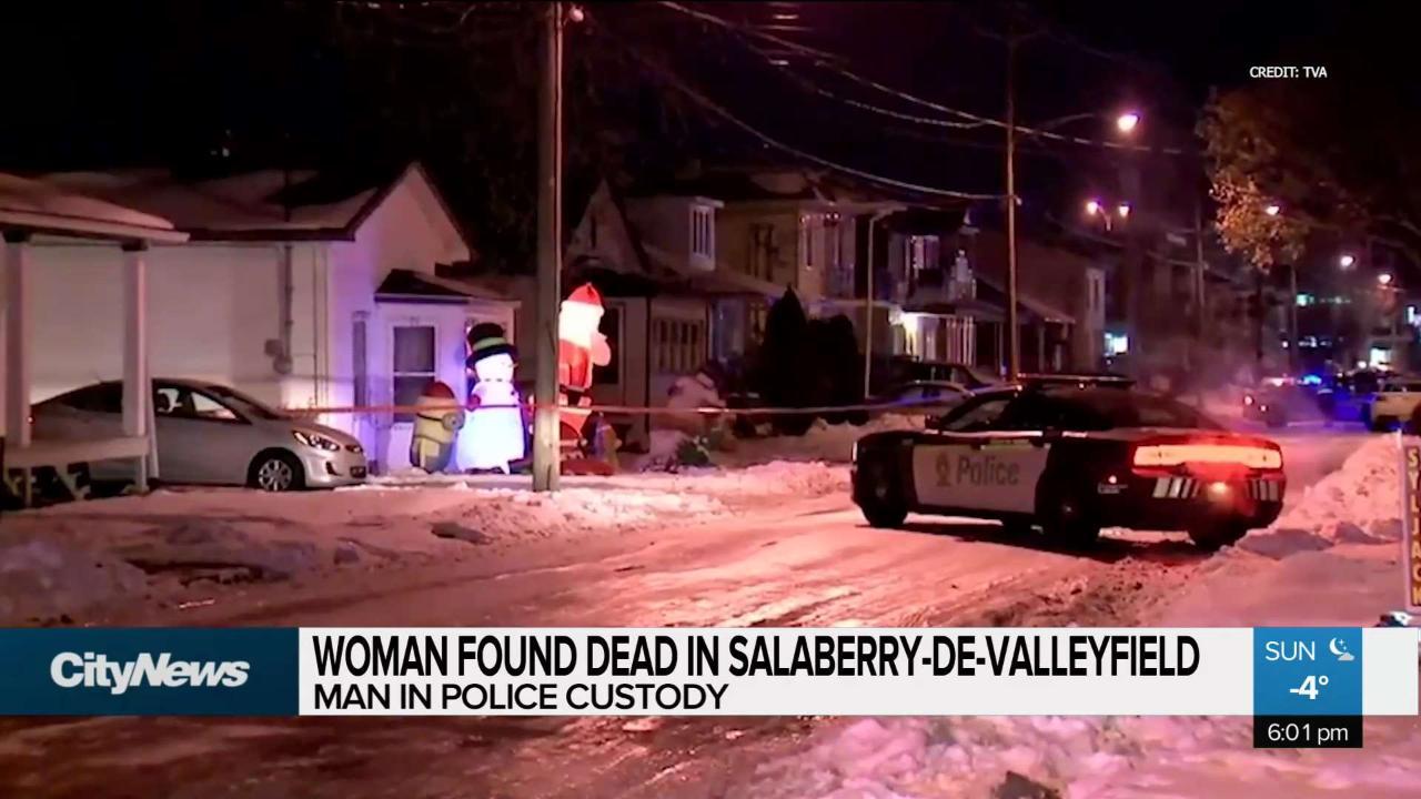 Woman found dead in Salaberry-de-Valleyfield - CityNews Montreal