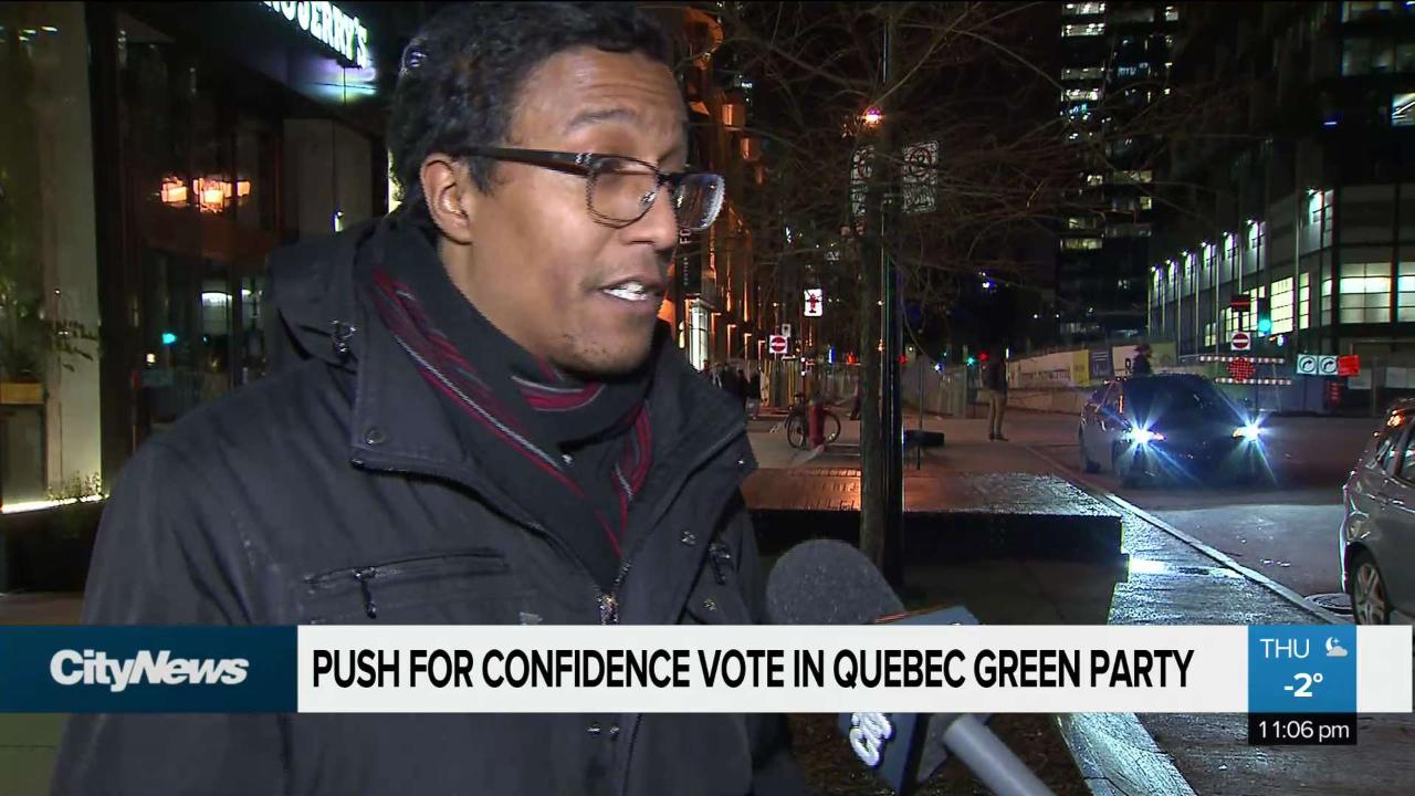 Petition to force PVQ confidence vote