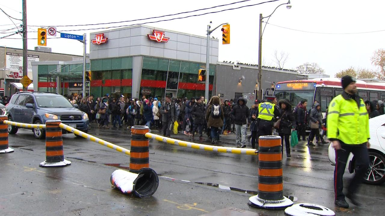 'A lot of sweat and anger:' TTC investigating cause of power shutdown on Line 2