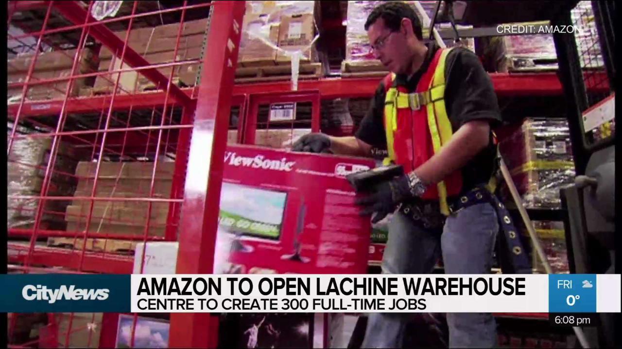 Amazon set to open warehouse in Lachine - CityNews Montreal