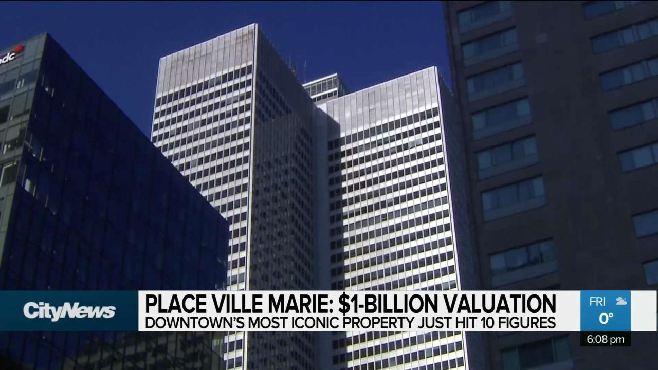 Place Ville Marie hits a $1-Billion valuation - CityNews Montreal