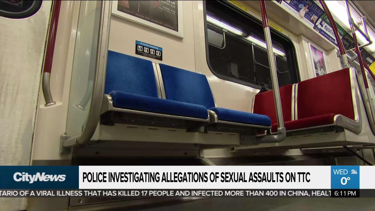Another alleged TTC sex assault victim comes forward