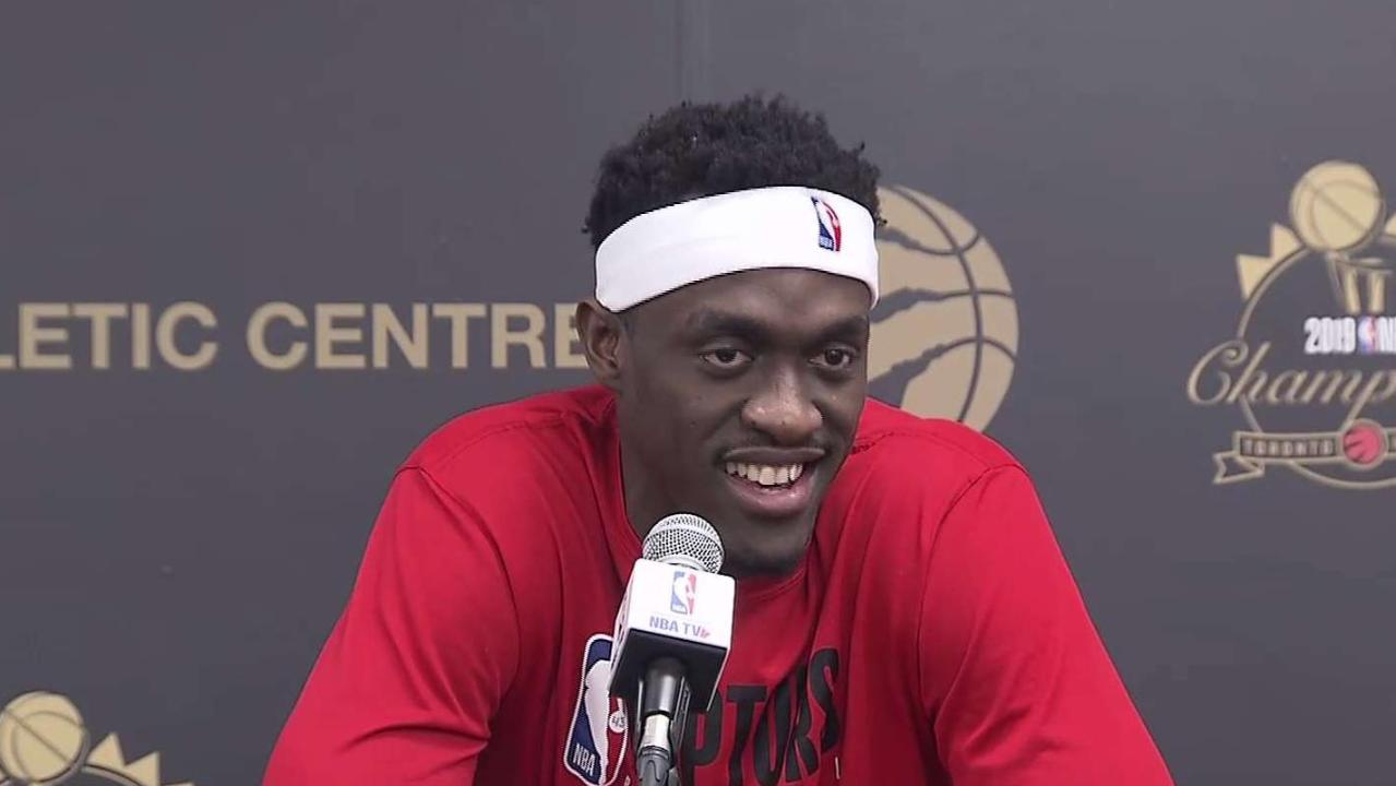 Raptors' Pascal Siakam returns to practice