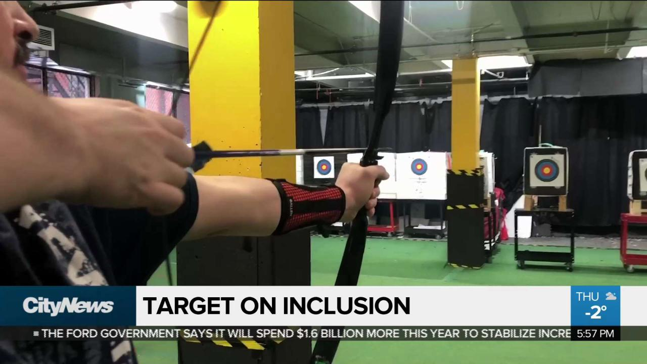 Archery class helping youth living with autism